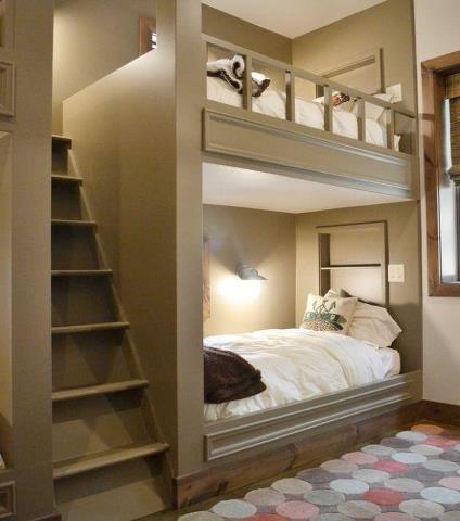 26 best built in bunk beds images on pinterest