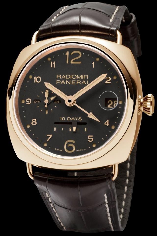 Radiomir 10 Days GMT Oro Rosso - 45mm - PAM00497