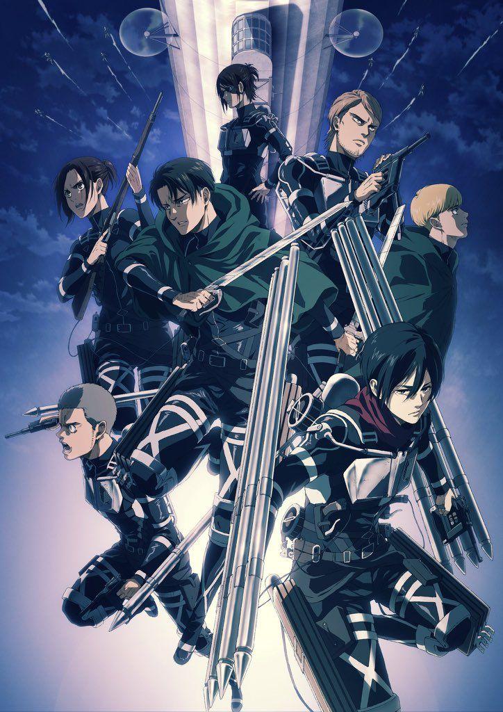 Shingeki no Kyojin The Final Season estrena Visual Art en