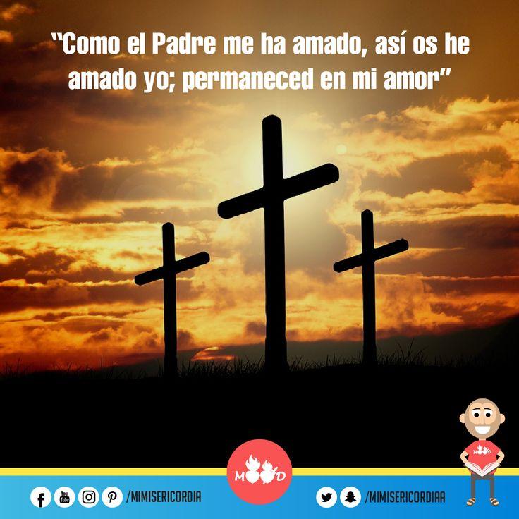 """""""Como el Padre me ha amado, así os he amado yo; permaneced en mi amor"""". (Jn 15, 9-11)"""