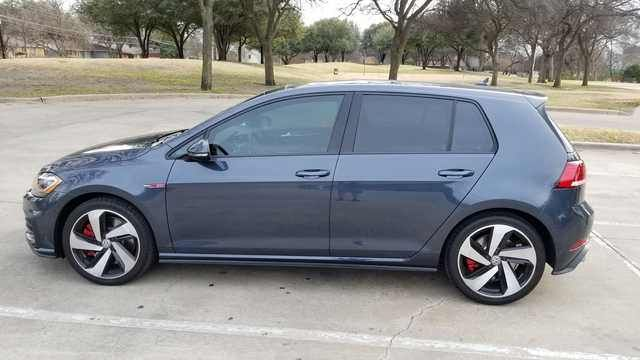 gti autobahn dark iron blue vw gti cars vehicles car