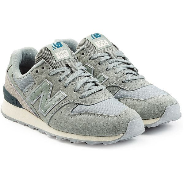 New Balance Suede and Mesh Sneakers (115 CAD) ❤ liked on Polyvore featuring shoes, sneakers, multicolored, round cap, suede sneakers, new balance shoes, new balance sneakers and mesh shoes