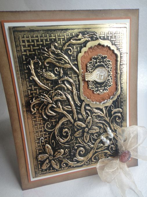 Spellbinders 3D M-Bossabilities Engraved Card Workshop by Creative Expressions