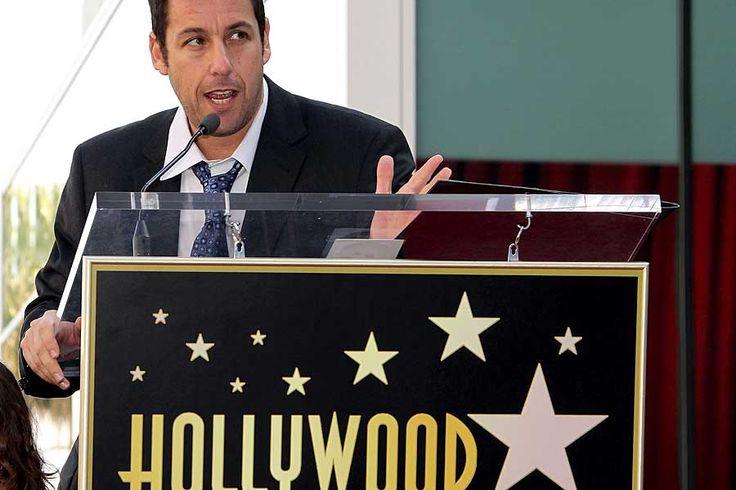 Walk Of FameNeuzugang auf dem Walk Of Fame in Hollywood: Schauspieler Adam Sandler wurde mit einem Stern geehrt. Wir zeigen mehr Stars und