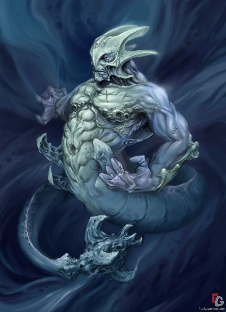 sea monster from elveon | mermaids | Pinterest | Sea ...