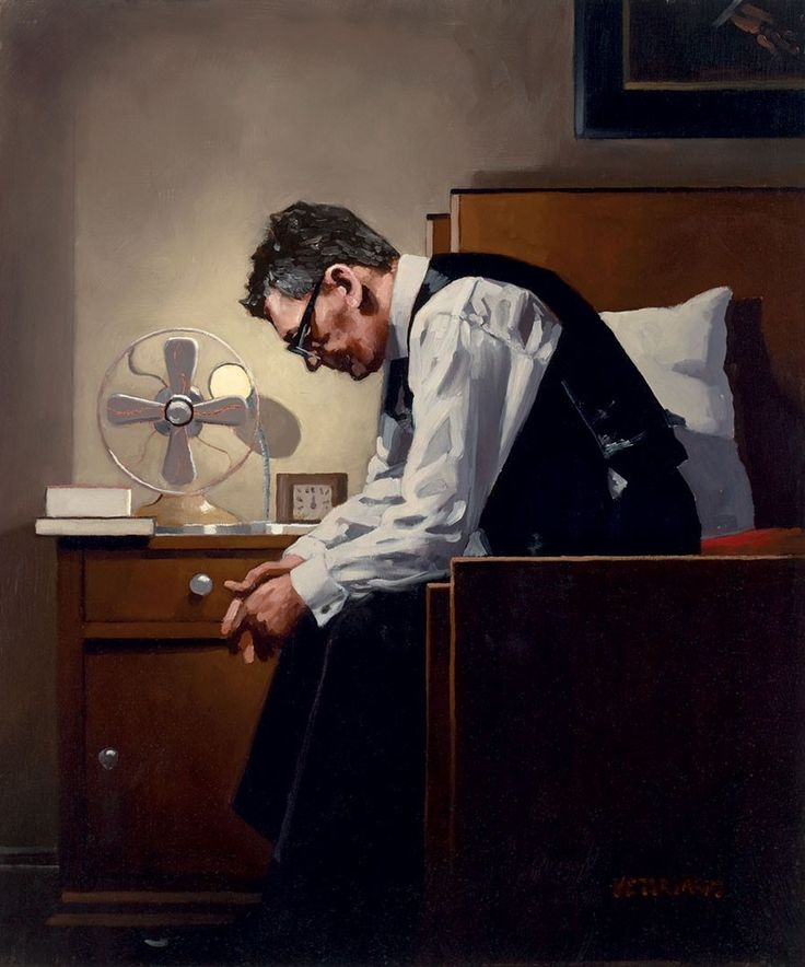 The Weight by Jack Vettriano (b. 1951), Scottish