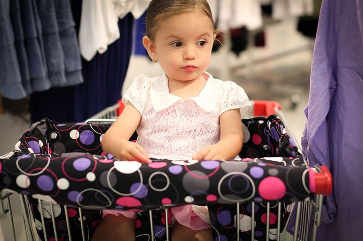 """""""Headed to the supermarket? Make sure you have a gorgeous Bambella trolley liner to keep baby or toddler comfy and germ-free with ease."""""""