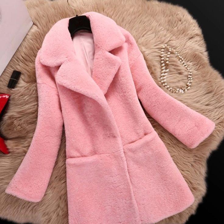 Long Faux Fur Coat Women Winter Coats Jackets Manteau Fourrure Femme 2017 Veste Fourrure Femme Pelliccia Del Faux Abrigos Mujer