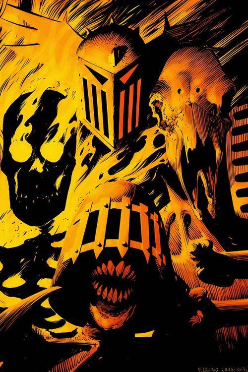 Dark Judges byFrazer Irving