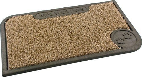 Clean Machine Wipe Your Paws 18-Inch by 30-Inch Doormat, Taupe by Clean Machine. $21.14. Clean machine technology holds and hides over one pound of dirt. Resists mildew and moisture. Care: shake out dirt and wash with garden hose. Great in snow or hot weather. Made from genuine astroturf. 1. The Hardest working doormats in the World. Clean Machine branded doormats are exclusively made with Genuine AstroTurf scraper blades which have been keeping homes clean fo...