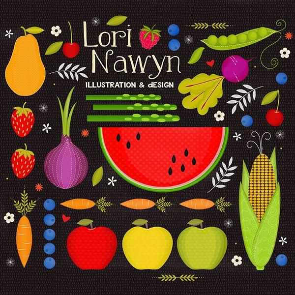 Lori Nawyn - Illustrator for Hire via They Draw & Cook