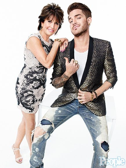 Adam Lambert on Mom Leila: I Was Never Made to Feel Bad About Myself http://www.people.com/article/adam-lambert-coming-out-talks-mom-leila-support