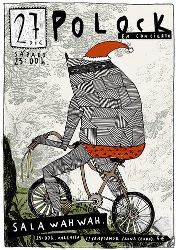 Carla Fuentes – Poster Polock december 2008