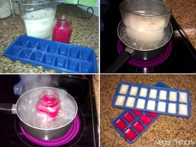 DIY Scentsy Refills...melt your old candles and pour them in ice cube trays! Easy!!