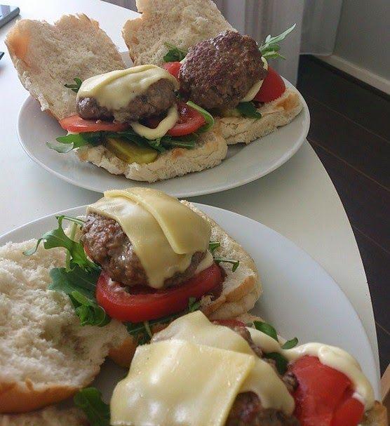 Manon's Life: Recept: Rundvlees hamburgers