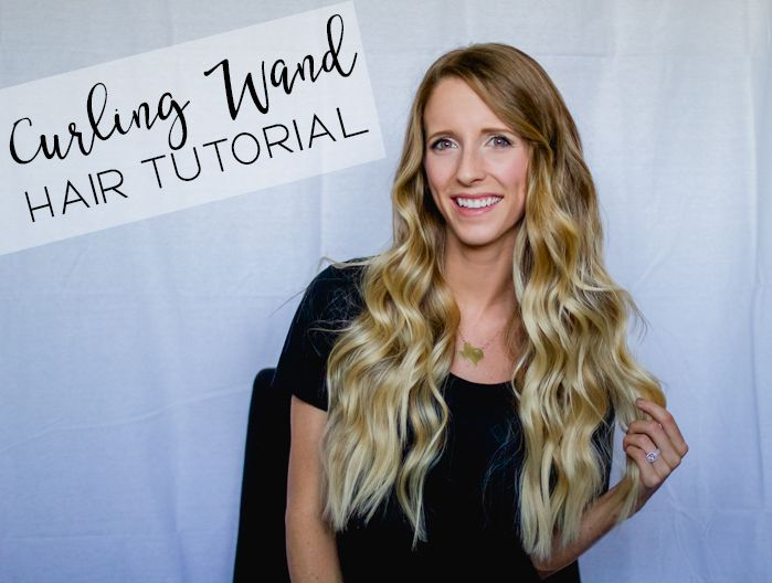 Curling Wand Hair Tutorial - Happily Howards