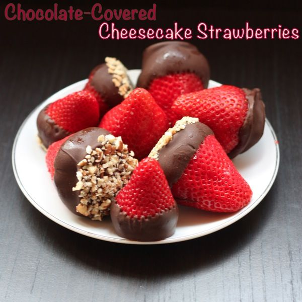 recipe: cheesecake stuffed strawberries pinterest [13]