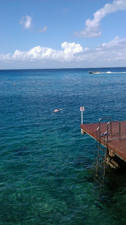 Snorkeling at Cozumel Palace