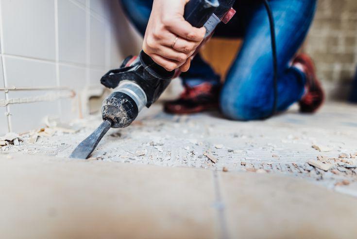 Tile Glue Contained Asbestos Too In 2020 Asbestos Tile Floor Flooring