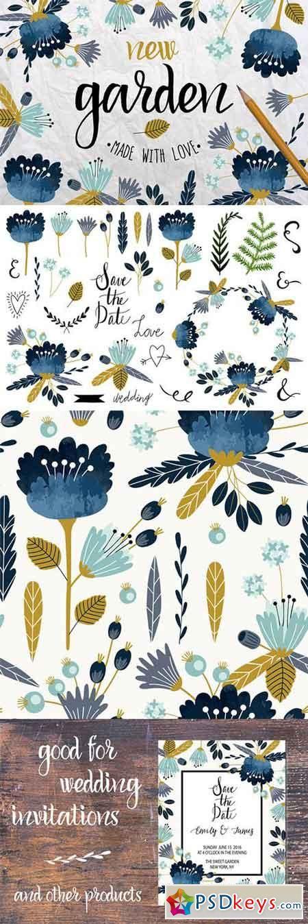 New Garden. Autumn floral collection 328459
