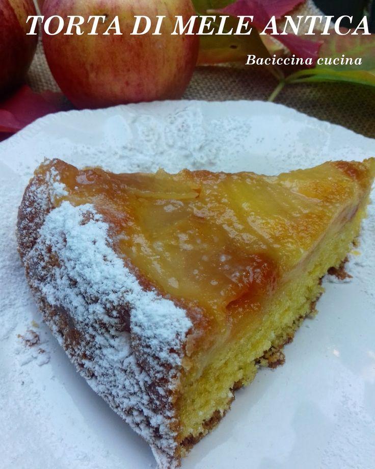 Per dare il benvenuto all'autunno, che qui in Riviera ha tardato non poco ad arrivare , ecco una buonissima torta di mele. L'ho scovata ...
