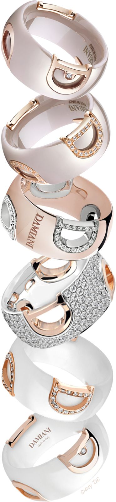 Brilliant Luxury by Emmy DE * Damiani 'Icon' Rings/Dorothy Johnson