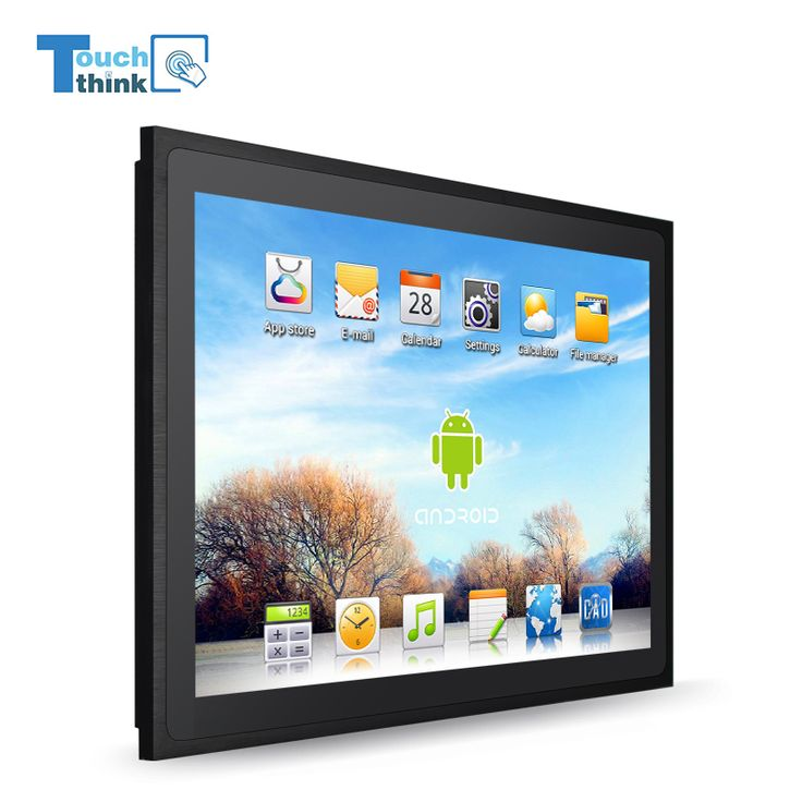 15 inch 10mm bezel industrial elo all in one touchscreen computer monitor PC