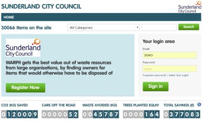 Check out the savings Sunderland City Council are making using @Warpit_