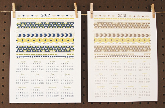 Free Printable 2012 Calendar (5 different color options) from Love vs. Design: Printable 2012, Downloadable Calendar, 2012 Calendars, Crafty Printables, Printable Calendars, 2012 Printable, Free Printable Calendar