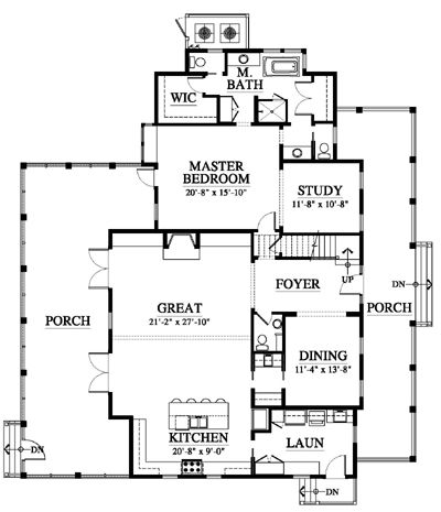 Allison ramsey architects floorplan for palmetto Allison ramsey house plans