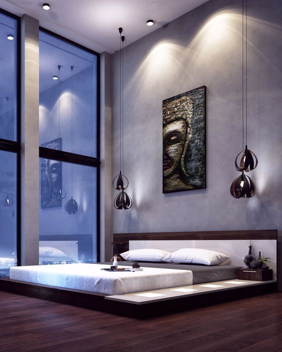 Modern Platform Bedroom Sets Soft Bedroom Lighting Black And Red Bedroom Interior Design Bedroom Furniture Ideas 2016: Impera Modern-Contemporary Lacquer Platform Bed In 2019