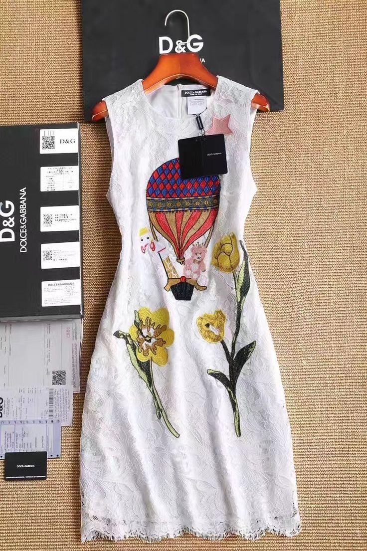 Dolce Gabbana романтическое кружевное платье