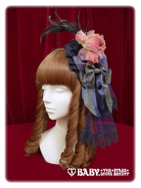 Alice and the Pirates Starlight Carnevale head dress style head bow