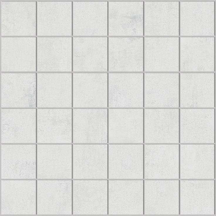 Bien Texture Carrelage Blanc #15: Mosaïque Carrelage Aspect Résine 30x30 Bianco Structuré, Collection Studio  Century