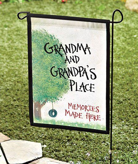 Grandma & Grandpa's Garden Flags | The Lakeside Collection