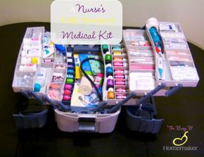 DIY Nurse's Fully Stocked Emergency Medical Kit