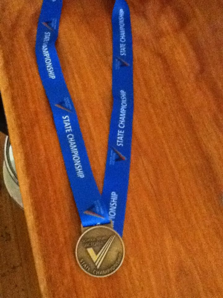 I'm a Victorian State Hockey Champion