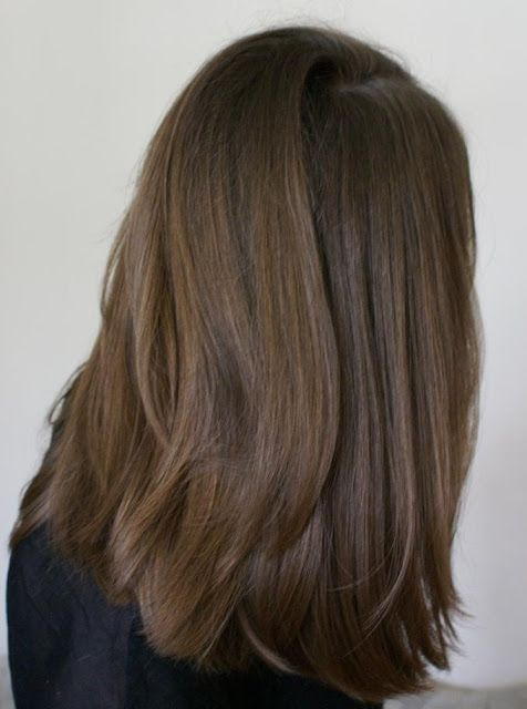 Thick Shoulder Length Hair