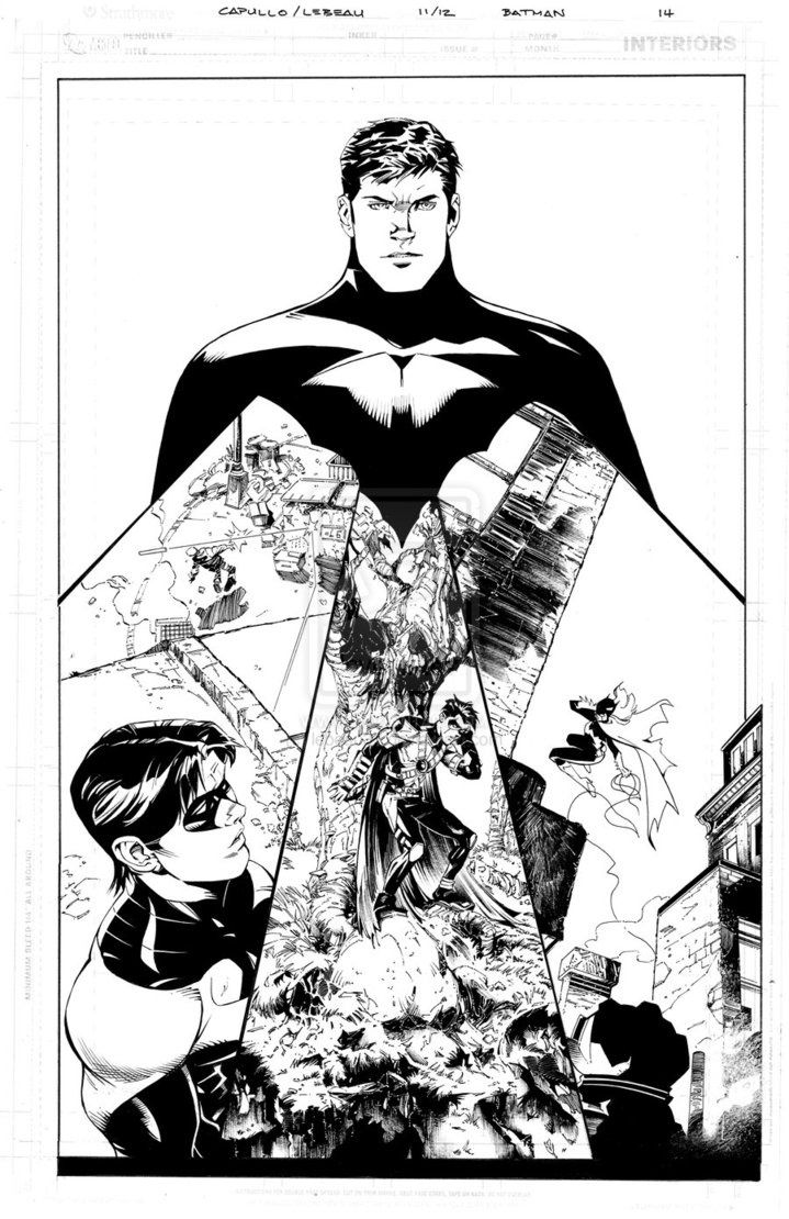 Fashion of the bat an extremely thorough examination of batman s - Batman Family Greg Capullo