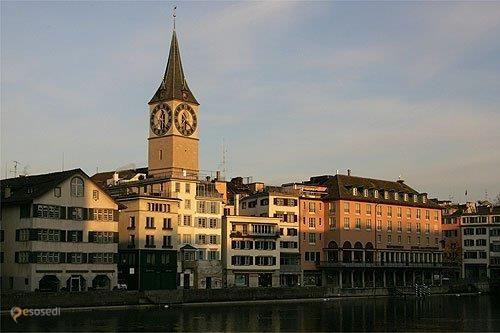 Церковь Святого Петра – #Швейцария #Цюрих (#CH_ZH) Старейшая церковь Цюриха. http://ru.esosedi.org/CH/ZH/1000251256/tserkov_svyatogo_petra/