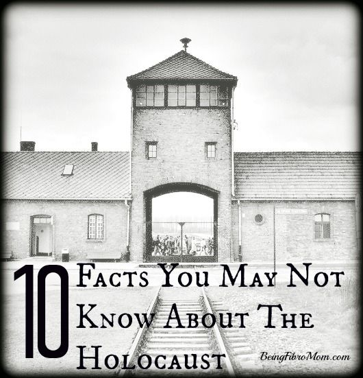 10 Facts You May Not Know About The Holocaust #Holocaust #WorldWarII #WWII  http://www.beingfibromom.com/10-facts-about-the-holocaust/