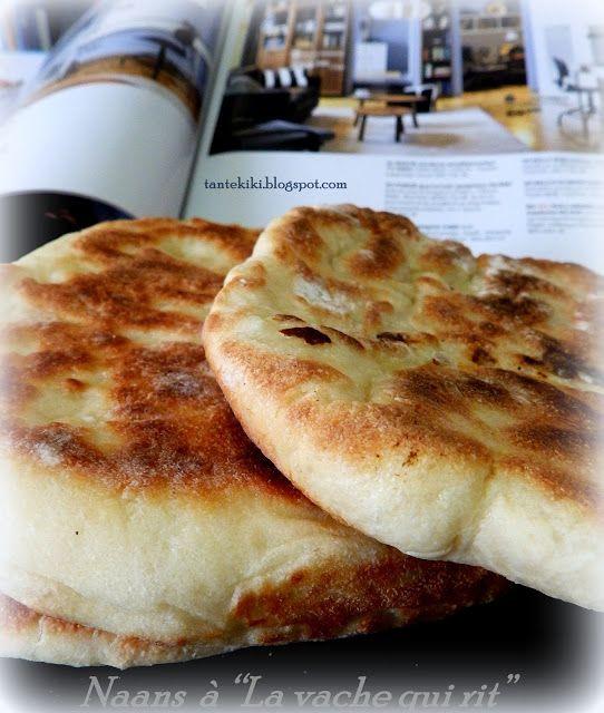 """Tante Kiki: Ψωμάκια Ναάν με """"La vache qui rit"""" ή  γαλλικά ...τ..."""