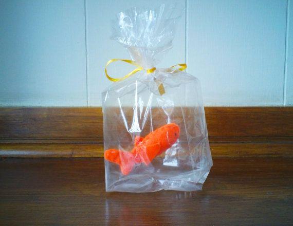 Orange Gold fish  The Ultimate Pet Fish in a bag by KAReynoldsLtd