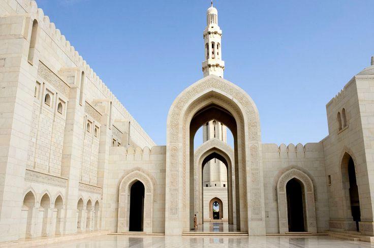 Sultan Quaboos Moschee, Muscat, Oman, 2009 - ECC-Studienreisen