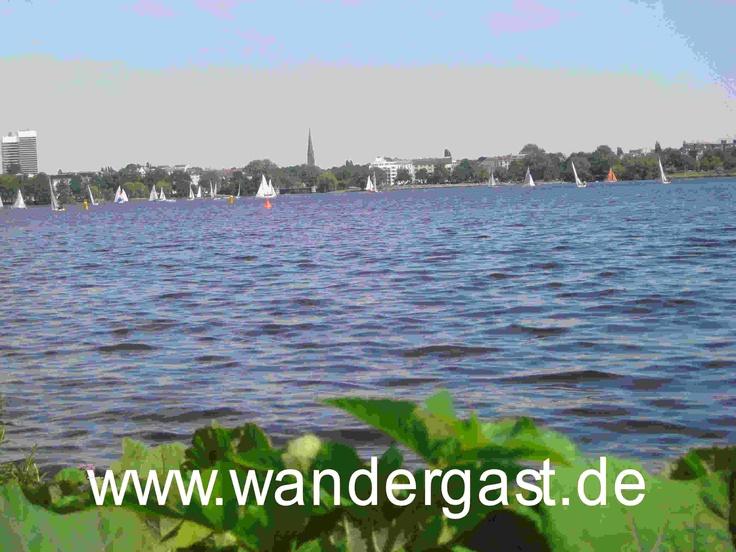 Hamburg im Sommer  http://www.wander-gast.de/Unterkunft/hamburg.php