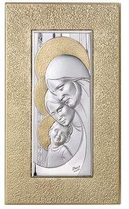 Srebrny obraz w ramie Święta Rodzina, stanowi doskonały prezent dla rodziców z okazji rocznicy ślubu. #dla_nowozencow #slub #podziekowania_dla_rodzicow