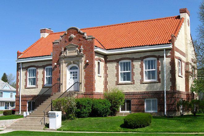Public Library (Bedford, Iowa) Carnegie