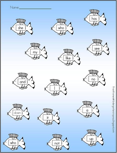 sight word fishSight Words, Records Sheet, Schools Ideas, Literacy Center, Fish Center, Words Fish, Kindergarten Crayons, Site Words, Classroom Ideas