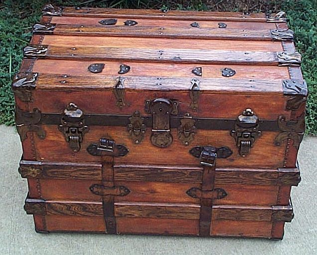 Wooden Steamer Trunk Plans WoodWorking Projects amp