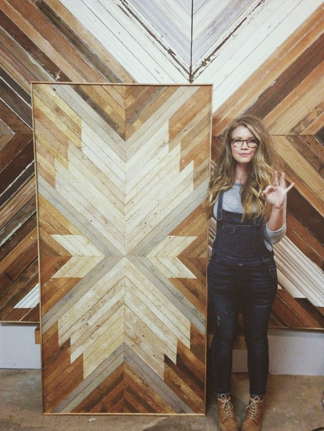 """My name is Aleksandra Zee, I am a woodworker. I make wall hangings tables and headboards all made from new and reclaimed wood. A day in my ..."